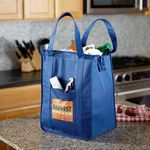 Custom Insulated Polytex Tote W/Zipper