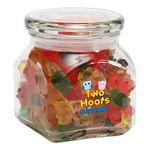 Custom Gummy Bears in Small Glass Jar