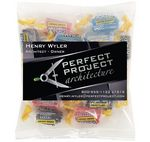 Custom Business Card Magnet w/Large Bag of Jolly Ranchers