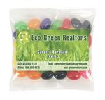 Custom Business Card Magnet w/Large Bag of Jelly Beans