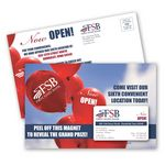Custom SuperSeal Direct Mail Postcard and Magnet