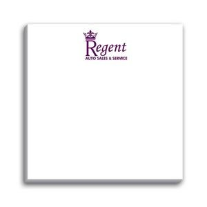 Paper Note Pad 3 x 3, 25 pages, w/ magnet