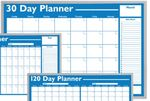 Custom Economical Non-Magnetic Planning Boards - 30 Day Planner (24