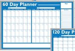 Custom Economical Non-Magnetic Planning Boards - 60 Day Planner (24