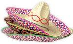 Custom 12 Pack Straw Sombreros