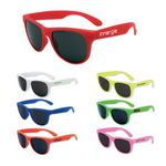 Custom Kids Solid Color Classic Sunglasses