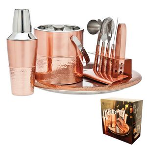 Custom 9 Piece Copper Bar Set