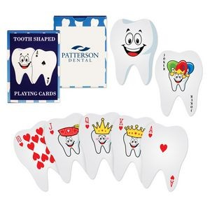 Tooth-Shaped Playing Cards