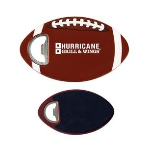 Football Coaster Bottle Openers