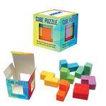 Custom Multi Color Cube Puzzle