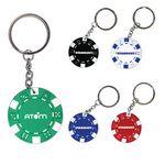 Custom Poker Chip Keychain
