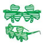 Custom Shamrock Shutter Glasses
