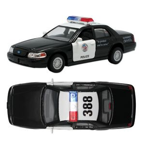 Custom Police Car Crown Victoria Police Car Pull Back