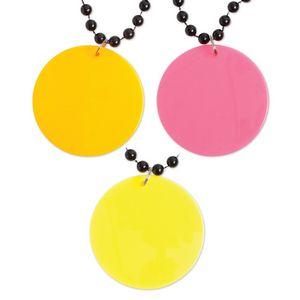 Custom Bright Edge Medallion Beads