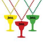 Custom Margarita Glass Medallion Beads