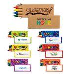 Custom 4 Pack Crayons