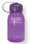 Translucent Purple Poly Carb Water Bottle (Blank)