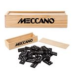 Custom Dominoes in Wooden Box