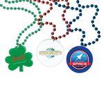 Custom 4 Color Process Decal Medallion Bead