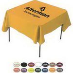 Custom Draped 4' Table Cover - Next Day Service (84
