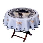 Custom Digital Round Table Cover - Next Day Service (60