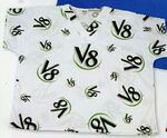 Custom All Over Print Scrub Shirt (Youth S-XL) & (Adult XS-2XL)