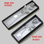 Custom Silver Plated Rose w/Engraving Plate (12.75