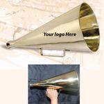 Custom 16-Inch Jumbo solid Brass Bull Horn