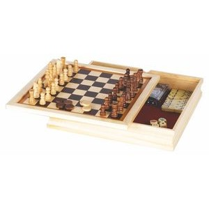 "10"" 6 in 1 Combination Game Set"