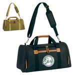 Custom New Style Deluxe Executive Duffle Bag