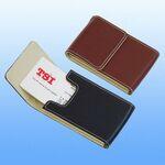 Custom Genuine Leather Card Case