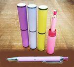 Custom Aluminum Pen with Tube Carrier