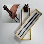 Custom Practice- Cat Chopstick Set