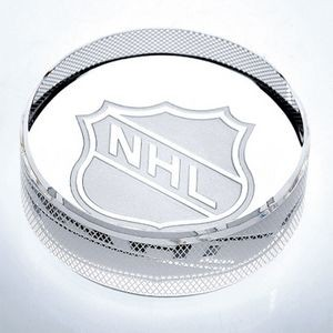 Optical Crystal Hockey Puck