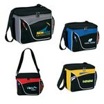 Custom High End Two-Tone 6 Pack Cooler