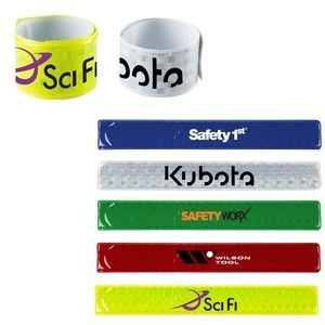 Reflective Roll-Up Slap Wristband