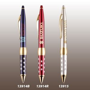Patriot Brass Ballpoint Pen (Red)