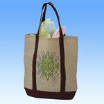 Custom Campus Soft Jute Bag