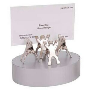 8 Man Paper Clip W/ Magnet Base (Screened)