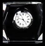 Custom Mini Designer Crystal Square Clock