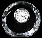 Custom Mini Designer Round Crystal Clock
