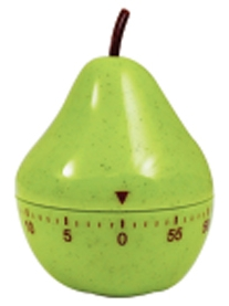 Pear 60 Minute Kitchen Timer
