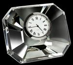 Custom Mini Designer Crystal Rectangle Clock