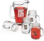 Custom Glass Pitcher & Pint Set