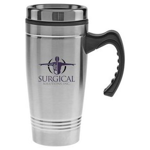 18 Oz. Stainless Steel Mug with Plastic Liner