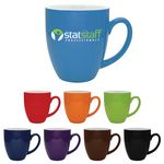 Custom 16 Oz. Duo-Tone Bistro Collection Ceramic Mug