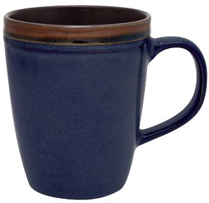 Custom 14 Oz. Reactive Glaze Antigua Collection Ceramic Mug