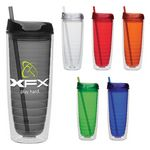 Custom 20 Oz. Cool Cup Collection w/Color Matching Lid & Straw