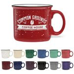 Custom 14 Oz. Camper Collection Ceramic Mug - Etched