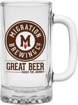Custom 16 Oz. Brewmaster Glass Tankard